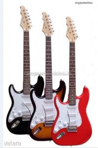 Vision balkezes elektromos gitár több színben