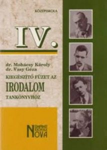 Kiegészítő füzet az irodalom tankönyvhöz IV.