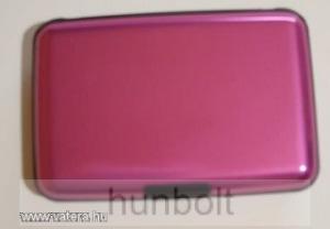 Bankkártya tartó metál pink