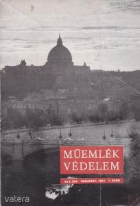 MŰEMLÉKVÉDELEM - XXV. évf., 1981/1.