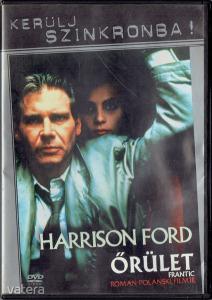 Őrület (Frantic, 1988) DVD Kerülj Szinkronba kiadású ritkaság fsz: Harrison Ford