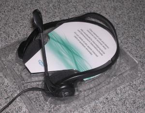 LOGITECH, minőségi USB headset