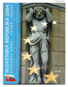 Szlovákia Euro Forgalmi sor 2004 Próba tervezet