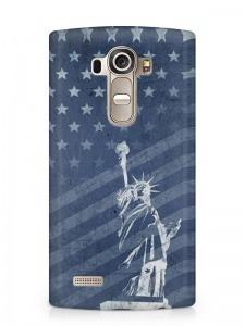 USA szabadság szobor mintás LG K8 tok hátlap