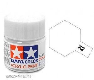 Tamiya 81502 MINI X-2 WHITE