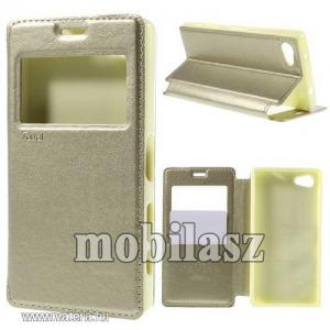 Flip tok, Sony Xperia Z5 Compact (E5823), Homok
