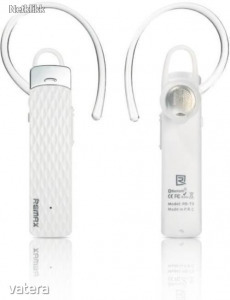 Remax T9 Bluetooth headset, fehér