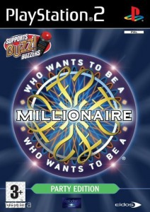 PS2  Játék Who wants to be a millionaire - Party ed