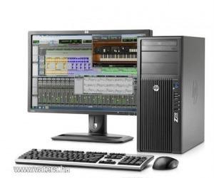 HP Z210 Work & Game, i7 (E3-1240), 4 Gb ddr3,  400W táp 6-pnes csatival erősebb videokártyákhoz