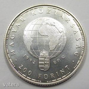 Magyarország, 200 forint 1992 - Veszélyeztetett állatvilág UNC, 10g500