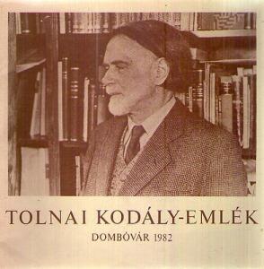 : Tolnai Kodály-emlék / Dombóvár 1982