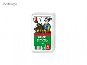 ASS Altenburger Gaigel/Binokel kártya, 48 lapos, 56x100 mm, német, plasztik tok