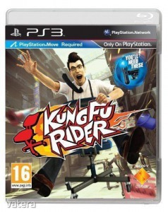 PS3  Játék Kung Fu Rider - PS Move