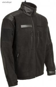 Gurkha dzseki polár fleece fekete