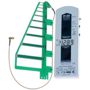 Elektroszmog mérő, nagyfrekvenciás sugárzás mérő, 800 MHz - 2.7 GHz, Gigahertz Solutions HF32D