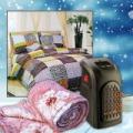 Téli válogatás: Mini hősugárzó + polár pléd + 3 részes ágyneműhuzat