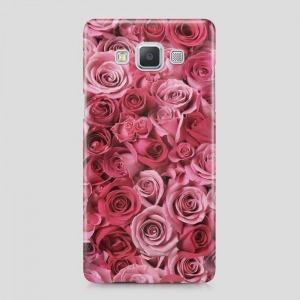 rózsás virágos Samsung Galaxy J5 tok