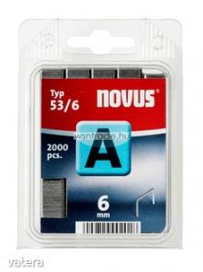 Novus tűzőkapcsok A 53 normál 6 mm 5000 db - Vatera.hu Kép