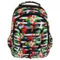 Majewski - St.Right Tropical Stripes hátizsák, iskolatáska 3 rekeszes