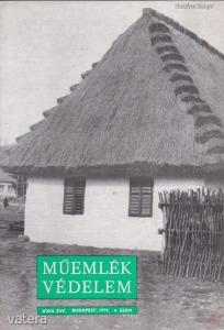 MŰEMLÉKVÉDELEM - XXIII. évf., 1979/4.
