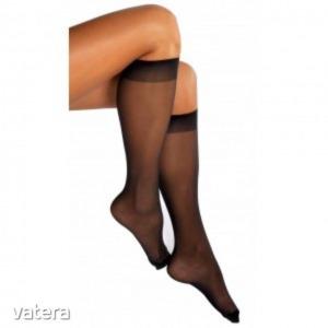 -SAKURA üvegszálas stretch térdfix, 15 DEN, 999 fekete, m:39-42 (27), 1 pár