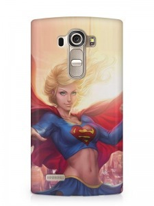 Superwoman mintás LG K8 tok hátlap