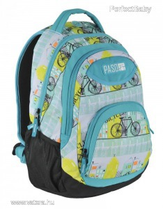 Paso táska, hátizsák 46 cm, kerékpár
