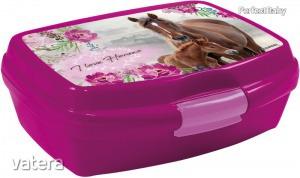 Lovas uzsonnás doboz, I love horses