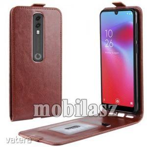 Vodafone Smart V10, Flip mobiltok, lefelé nyíló, Barna