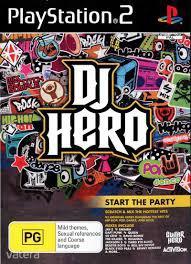 PS2  Játék DJ Hero