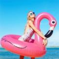 Nagy flamingó úszógumi / 120 cm
