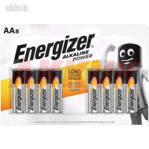 ENERGIZER ceruza elem Alkaline Power AA E91 8db/csom