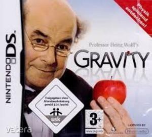 Nintendo DS Játék Proffesor Heinz Wolffs GRAVITY