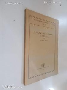 N.Dely Zsuzsa: A fiatal Jókai nyelve és stílusa (*66)