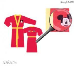 Mickey egeres fürdőköntös (98/104)