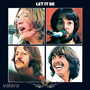 The Beatles - Metal Wall Sign - Let it Be. 30x30.cm. fém tábla kép