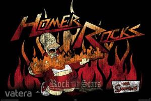 THE SIMPSONS - HOMER ROCKS plakát, poszter