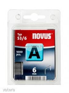 Novus tűzőkapcsok A 53 normál 6 mm 1000 db - Vatera.hu Kép