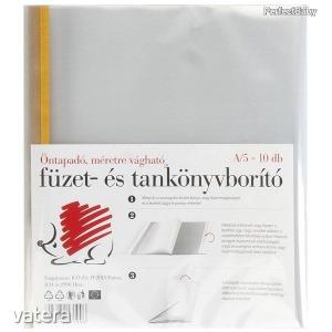 Öntapadó füzet- és tankönyvborító A/5 Süni, 10 db