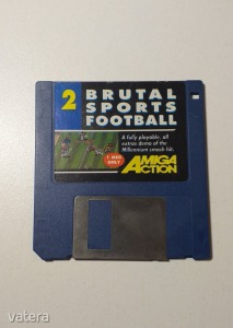 AMIGA Játék Brutal Sports Football - DEMO - G
