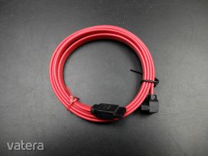 SATA kábel piros 1m