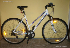 Genesis Speed Cross SX 10, alumínium vázas női cross trekking kerékpár