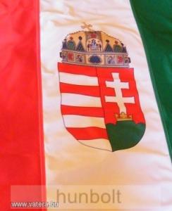 ca52ac44cc Függőleges nemzeti színű címeres zászló, lobogó (150X90 cm) hurkolt, bal  oldalon 4