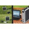 15W Solar koffer - Napelemes bőröndtáska