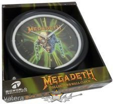 "Megadeth - Neon Logo Design Decor Clock ""Rare"""