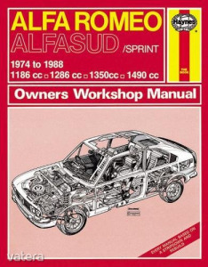 Alfa romeo Javítási kézikönyv, alfa romeo alfasud/sprint(1974-1988) up to f