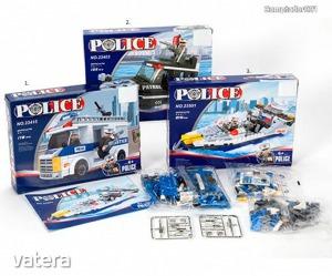 Rendőrségi építő szett