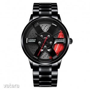 Volk Racing TE37 Rays Black Edition II karóra - fekete / piros