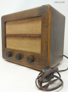 Ritka, antik, Orion 115A fadobozos rádió 1ft NMÁ