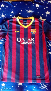 EREDETI NIKE FC Barcelona gyerek mez Neymar felirattal 158-170 es